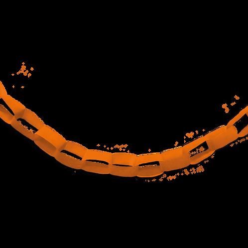 Guirnalda Cadena Naranja