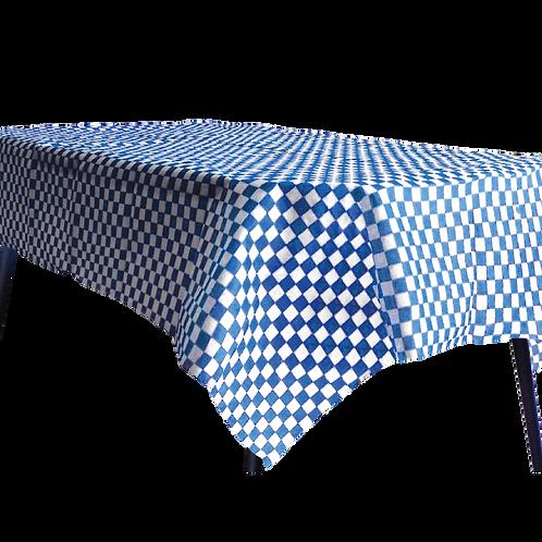 Mantel Estandar Cuadritos Azul