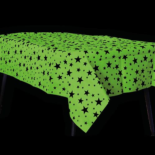 Mantel Estandar Verde Manzana Estrella Negra
