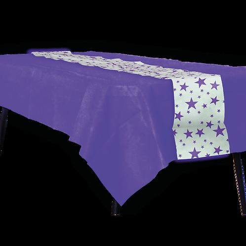 Mantel Violeta con Camino Estrella Violeta
