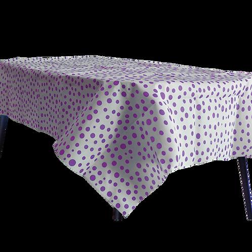Mantel Lunares Violeta