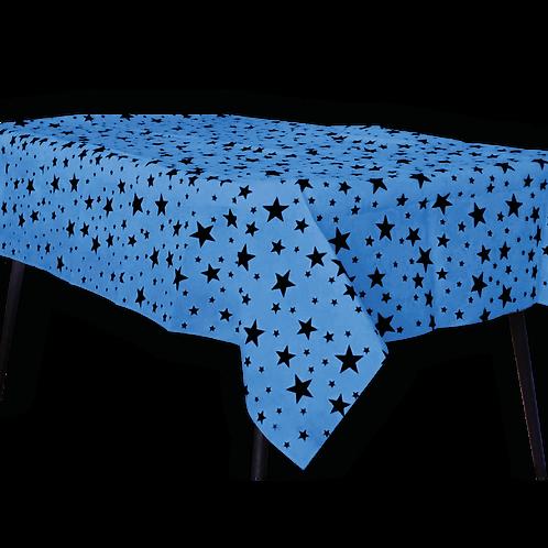 Mantel Estandar Azul Estrella Negra