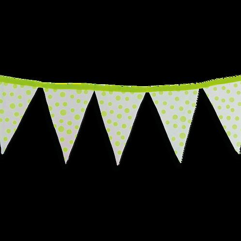 Banderín Fluo Lunar Verde x5