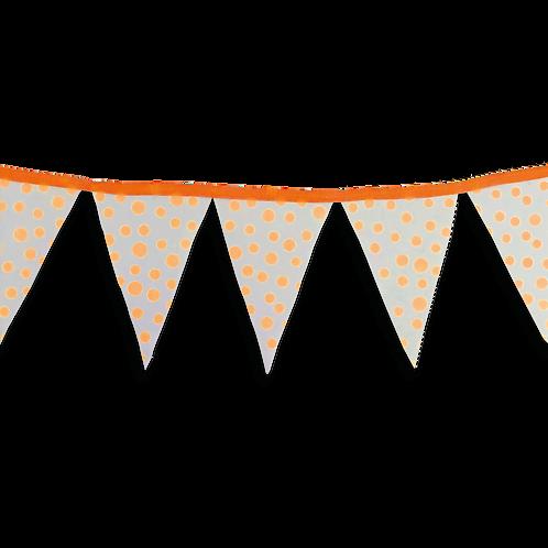 Banderín Fluo Lunar Naranja x5