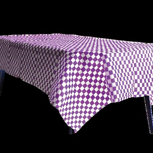 Mantel Estandar Cuadritos Violeta