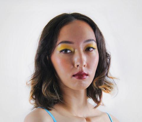 Bold eye and lip  Incredible Anna (@annashatayeva)   Project: Norah Lewis (@norahlewisagency)