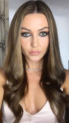 Glamour dark eyes nude lips  Mesmerizing Stephanie (@stephanie_spriggs)  Project: Norah Lewis (@norahlewisagency)