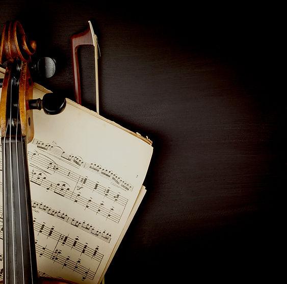 Скрипка над нотой