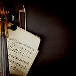 Violin över Noter