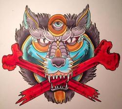 Copic Wolf