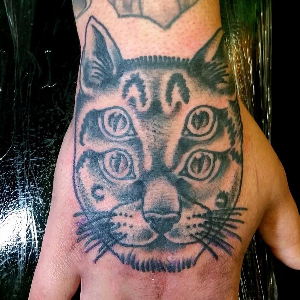 Four Eyed Kitty