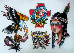 Traditional Inspired Flash Sheet
