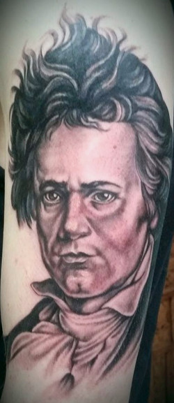 Beethoven Cover Up Portrait