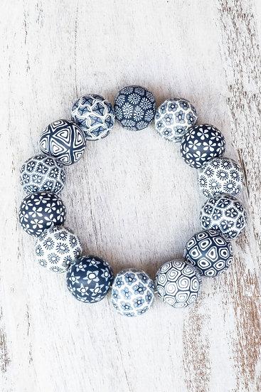 Bracelet Large Bead Traditional