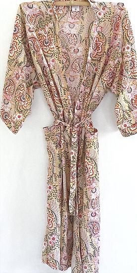 Long Cotton Robe