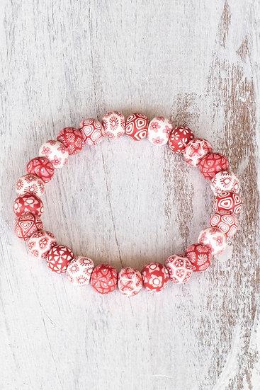 "Tiny bead bracelet ""Bindu Traditional"" style"