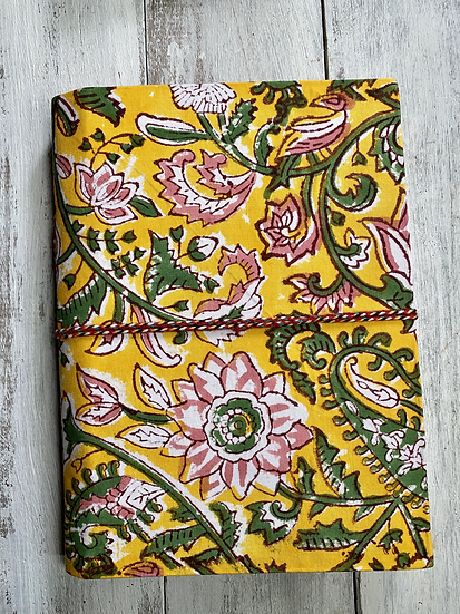Large Notebooks Hand Block Printed Cotton Cover