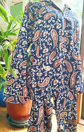 Silk and Cotton Pyjamas