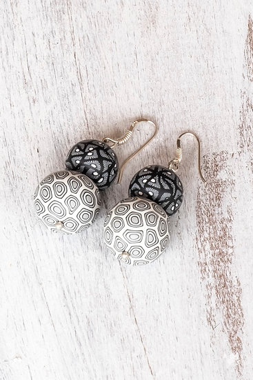 "Samunnat Double earrings ""traditional"" style"