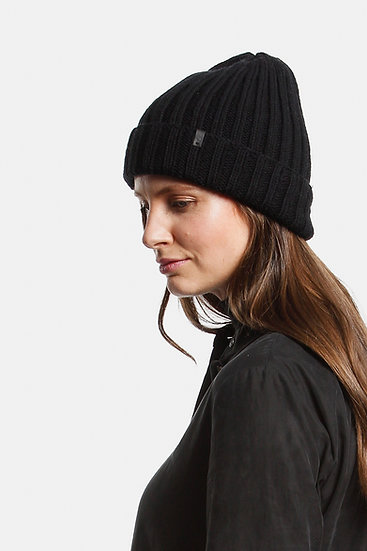 Dinadi Merino Thick Rib Hat - Various Colours
