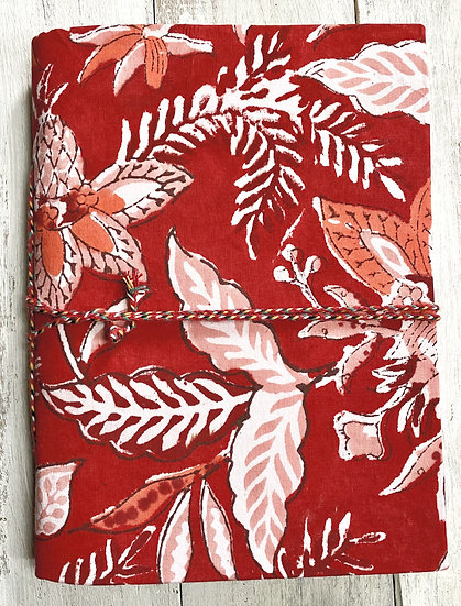 Small Notebooks Hand Block Printed Cotton Cover