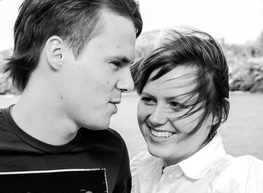 Love Story. Black & White.