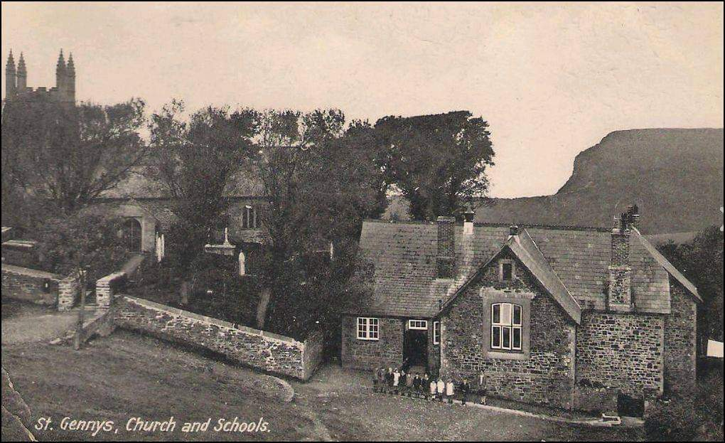 Victorian pic of school house