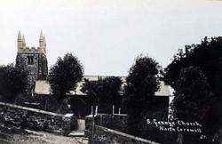St.-Gennys-Church-c.1930