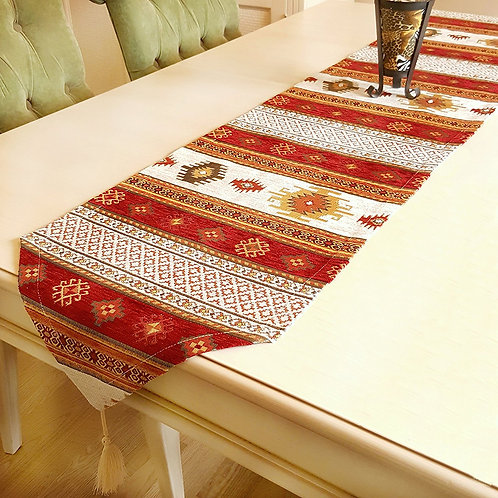 Anatolian Pattern Table Runner