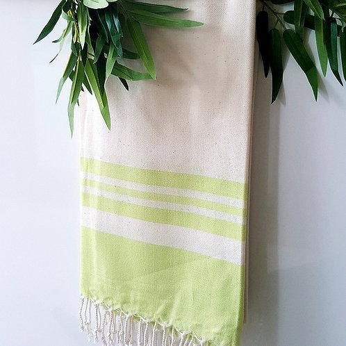 Bamboo Peshtemal Towel, 85x175cm (Pistachio)