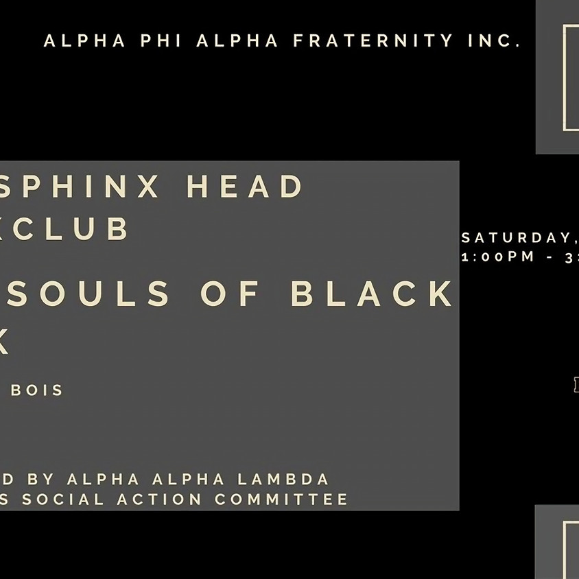Sphinx Head Book Club: The Souls of Black Folks W.E.B. Du Bois (1)
