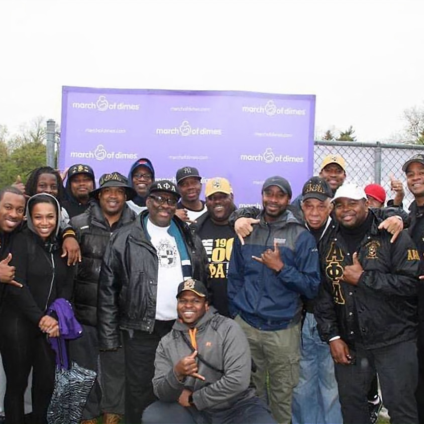 Alpha Phi Alpha's March for Babies