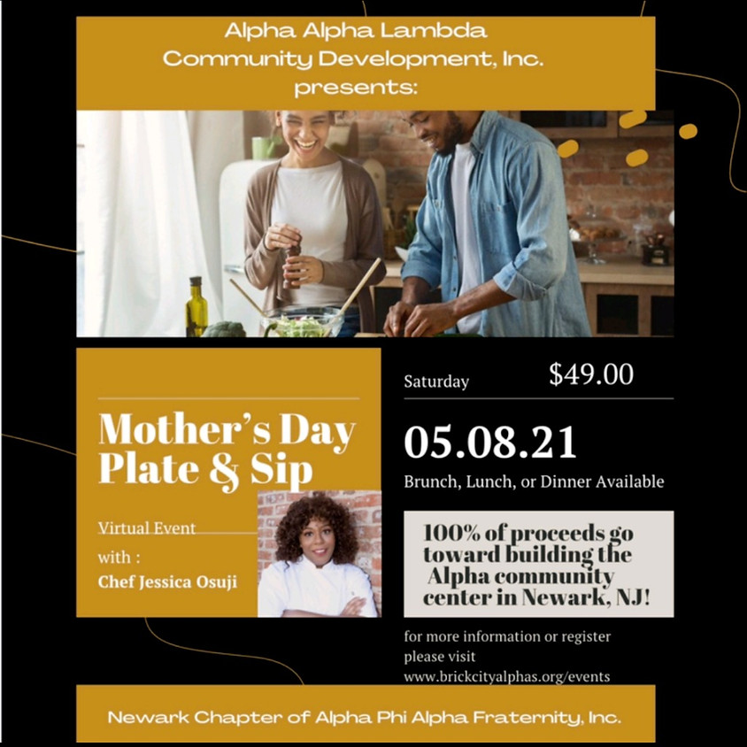 Mothers Day Plate & Sip