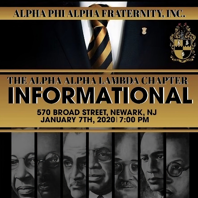 Informational Session for Alpha Phi Alpha - Alpha Alpha Lambda Chapter
