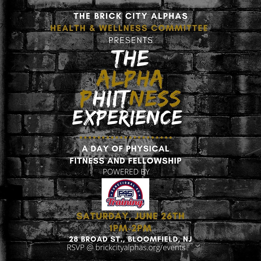 The Alpha PHIITness Experience