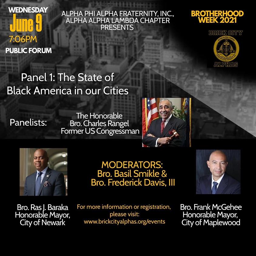 BROTHERHOOD WEEK: The State of Black America feat. Hon. Charlie Rangel