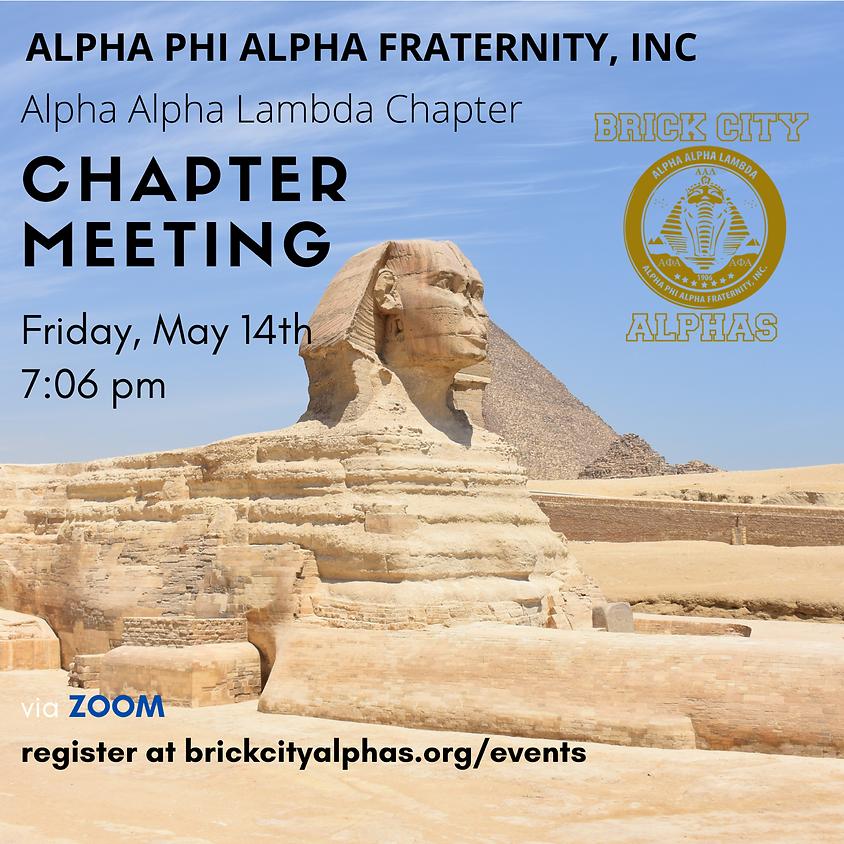 Alpha Alpha Lamda Chapter Meeting