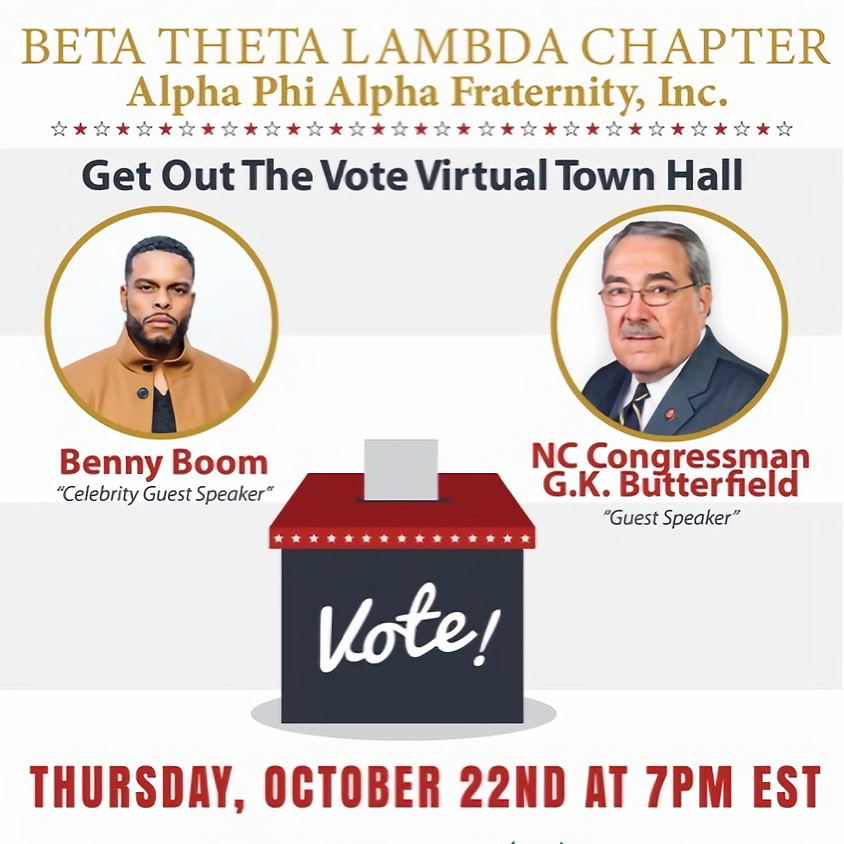 Get out the vote discussion with Beta Theta Lambda