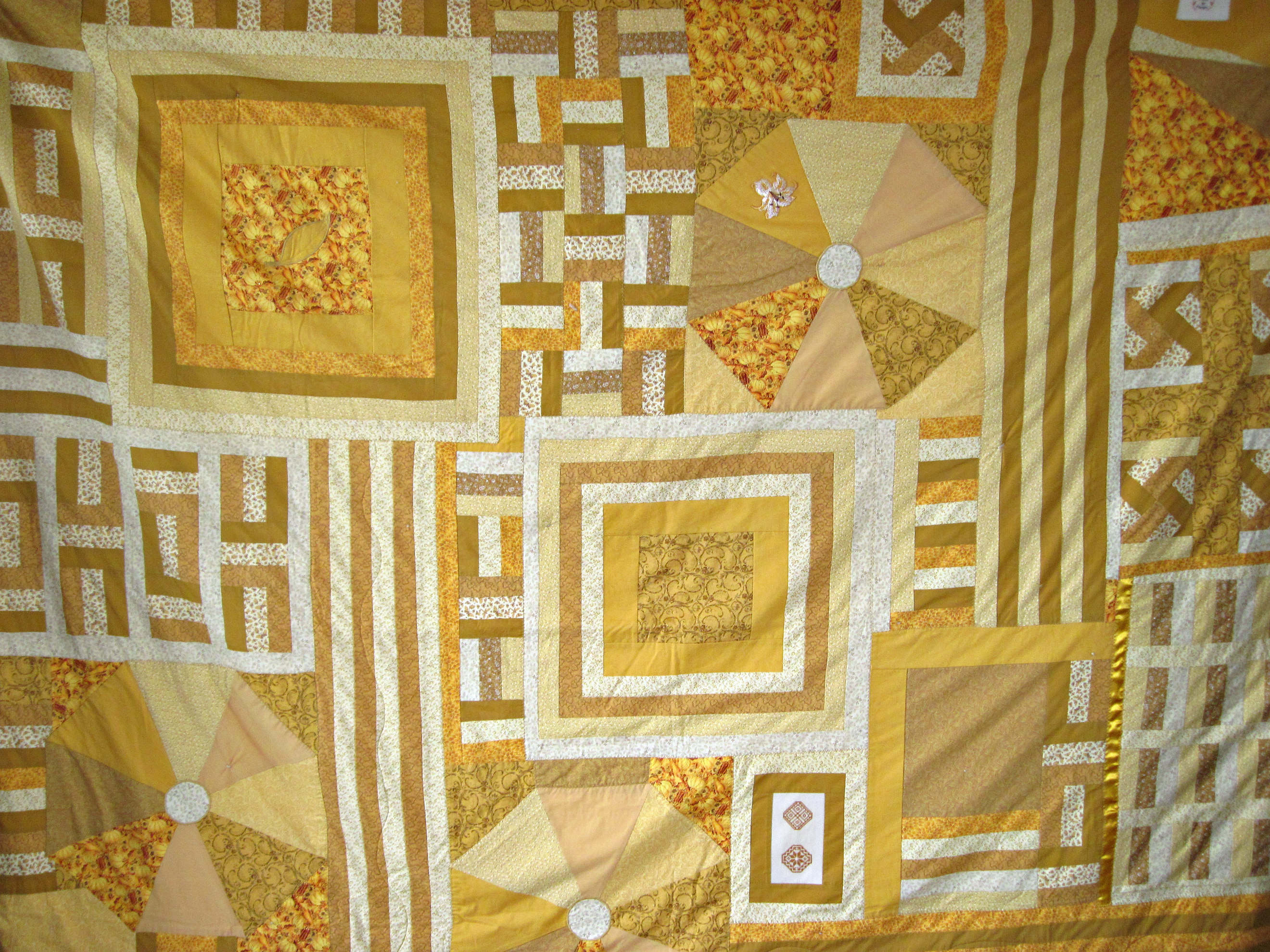 Yellow Sampler Quilt