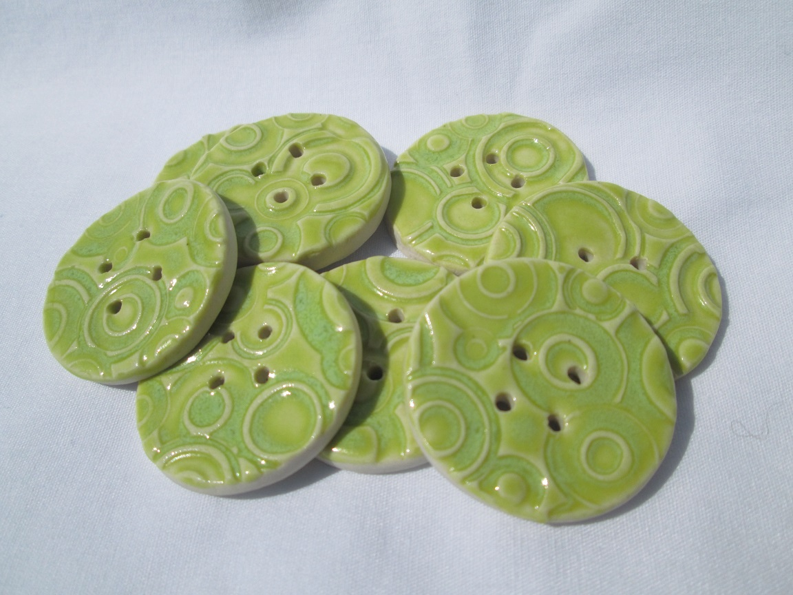 Green Circle Buttons