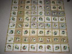 Leaf quilt 2011