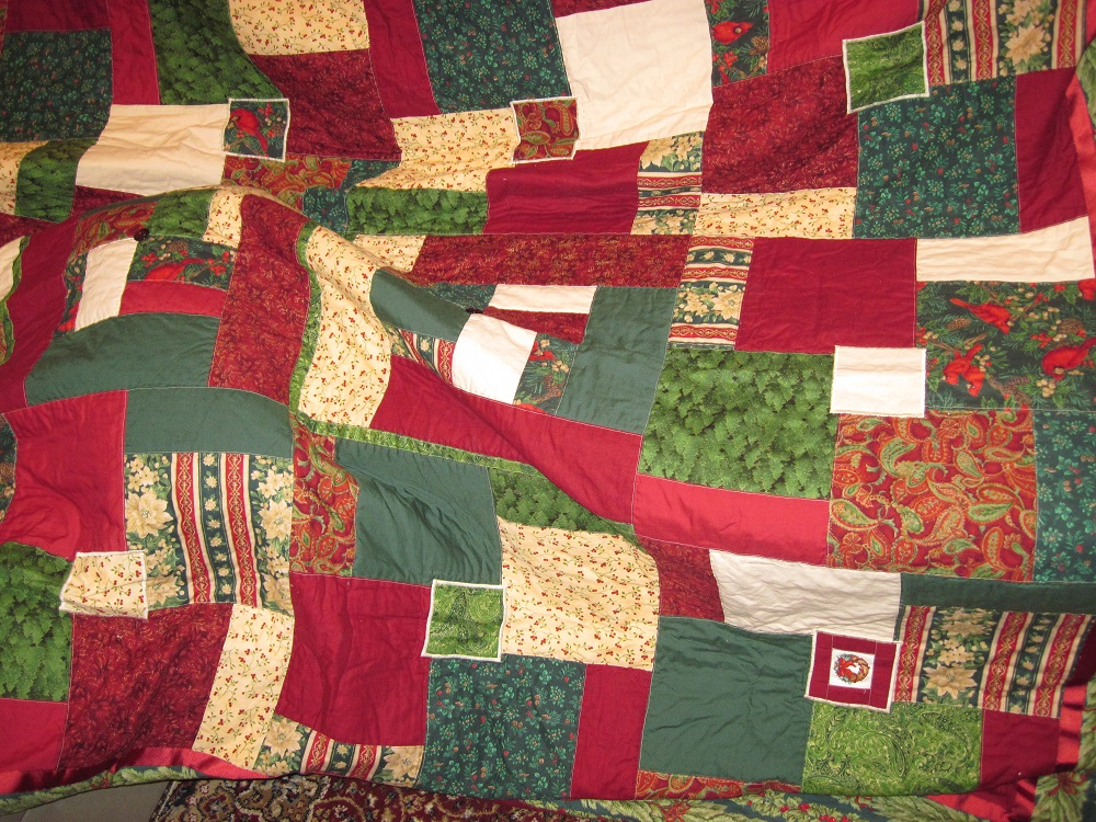 Christmas quilt 2008