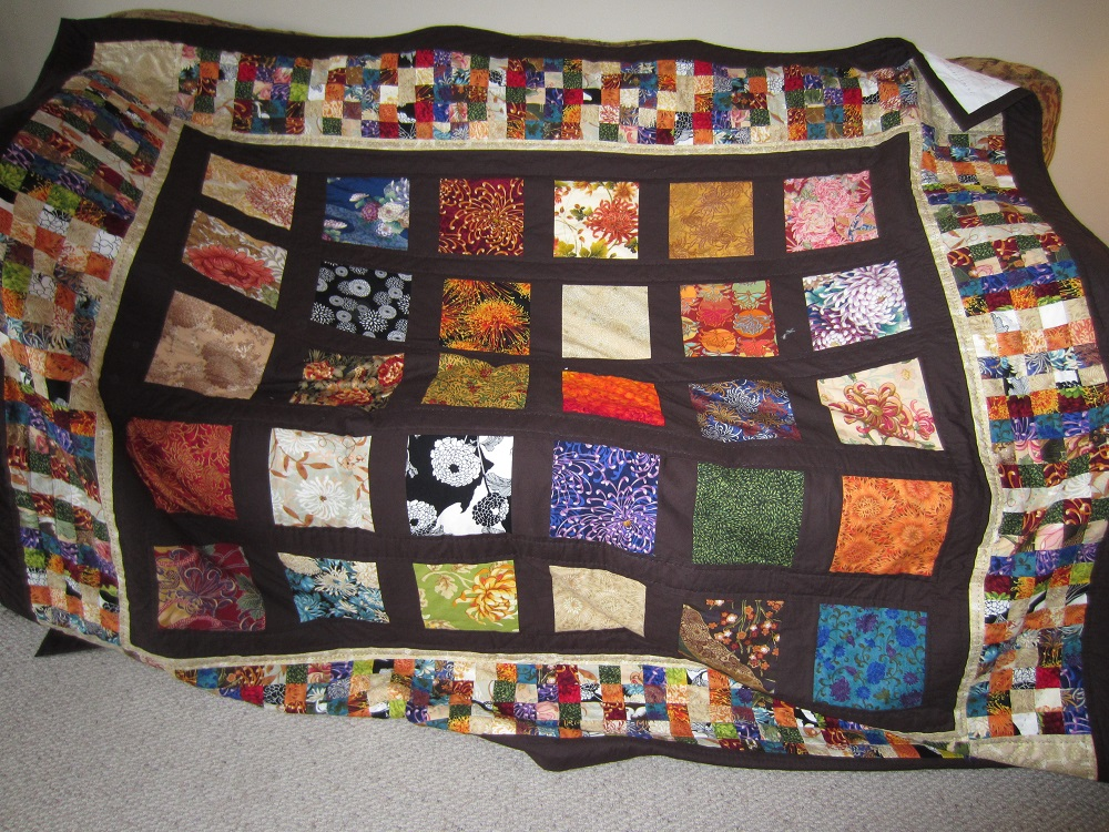 Chrysanthemum quilt 2012