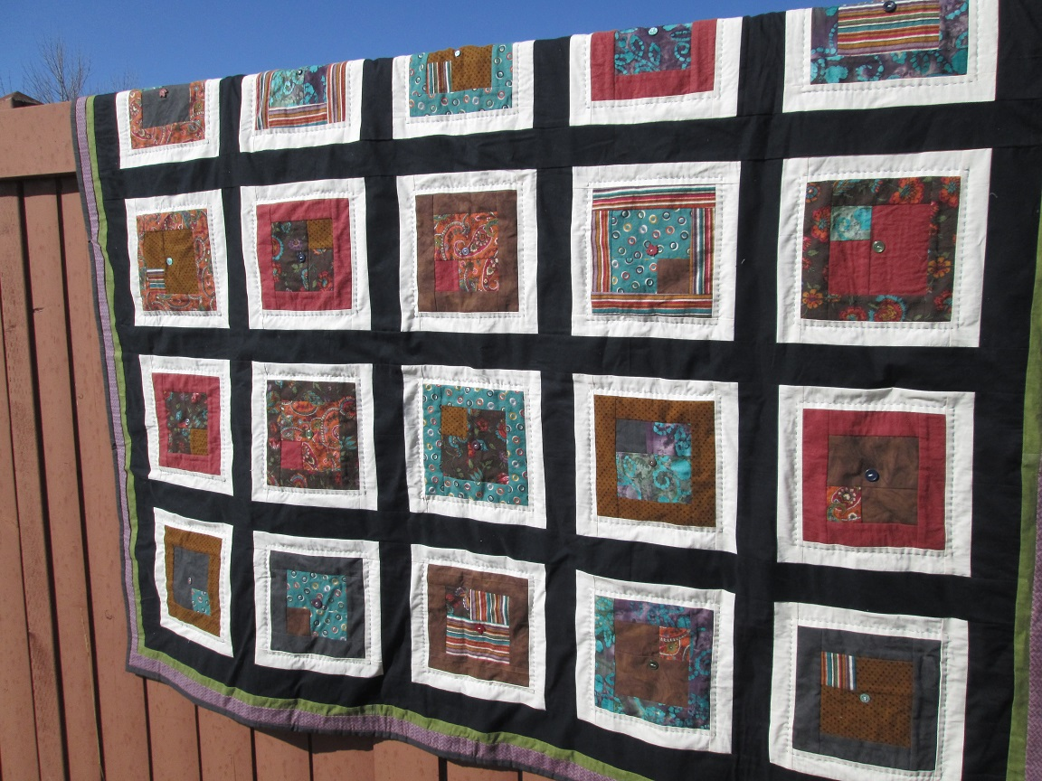 Lazy M quilt 2012