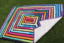 Adele's Rainbow Basket Quilt