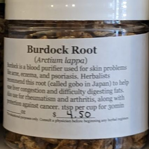 Burdock Root 4 oz