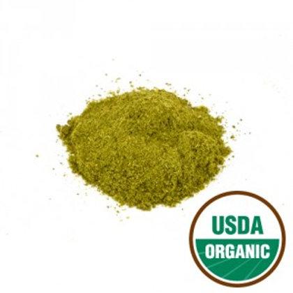 Organic Moringa Leaf Powder - 4 oz jar