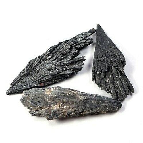Rough Black Kyanite Blades Gemstone