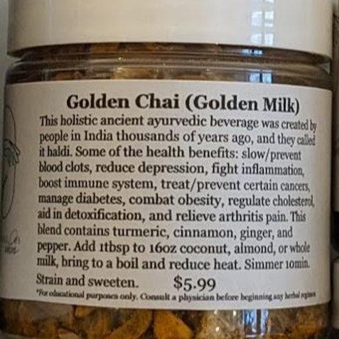 Golden Chai Tea Blend / Golden Milk 4oz