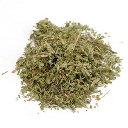 Damiana Leaf - Dried - 8 oz jar